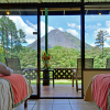ARENAL OBSERVATORY LODGE SMITHSONIAN ROOMS HAVE ARENAL VOLCANO VIEWS