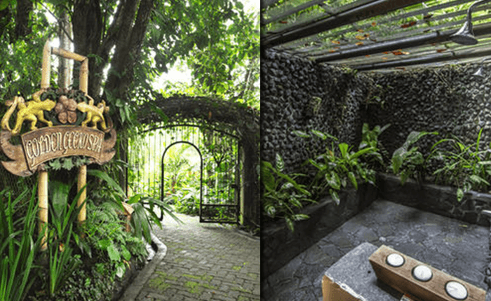 THE LOST IGUANA RESORT TRAILS AND AN OUTDOOR BATH