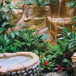 THE PEACE LODGE AT LA PAZ WATERFALL GARDENS DELUXE RAINFOREST BATHROOM HAS JACUZZI AND WATERFALL SHOWER