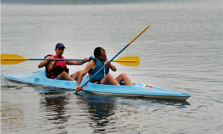 Arenal Kayaking day