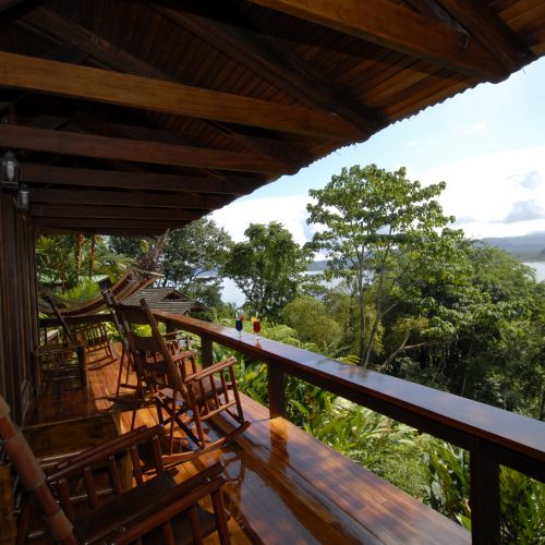 Deck view from Master Suite 1